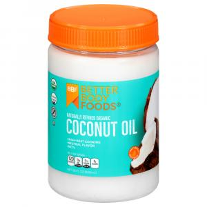 Betterbody Foods Naturally Refined Organic Coconut Oil