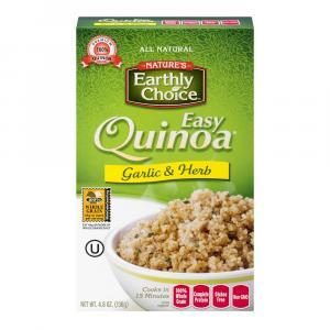 Nature's Earthly Choice Easy Quinoa Roasted Garlic
