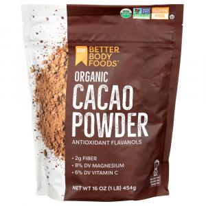 Better Body Foods Organic Cacao Powder