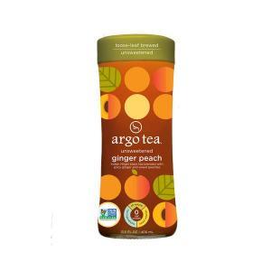 Argo Tea Unsweetened Ginger Peach