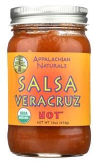 Appalachian Naturals Salsa Veracruz Hot