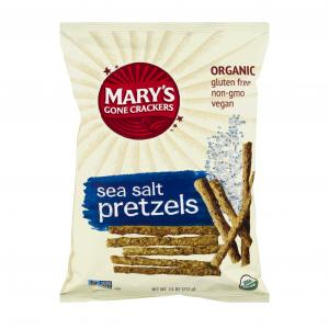 Mary's Gone Crackers Organic Gluten Free Sea Salt Pretzels
