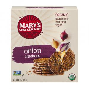 Mary's Gone Crackers Wheat & Gluten Free Onion Crackers