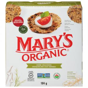 Mary's Gone Crackers Wheat & Gluten Free Herb Crackers
