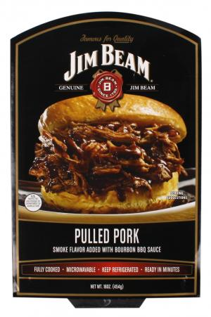 Jim Beam Pulled Pork With Bourbon Bbq Sauce
