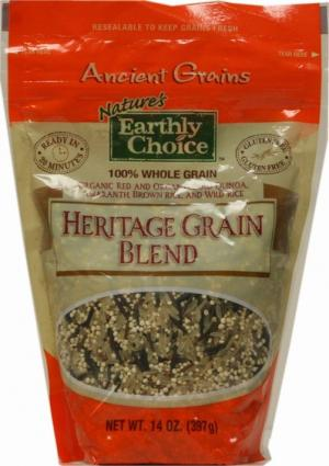 Nature's Earthly Choice Ancient Grains Three Continent Blend