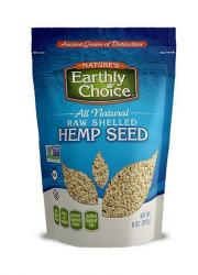 Nature's Earthly Choice All Natural Raw Shelled Hemp Seed
