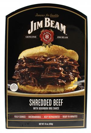Jim Beam Shredded Beef With Bourbon Bbq Sauce