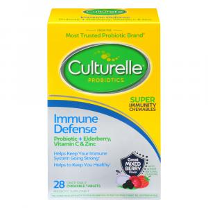 Culturelle Probiotic Adult Immune Defense Chewables