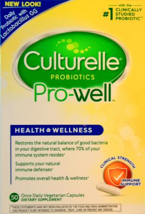 Culturelle Pro-Well Health & Wellness Dietary Supplement
