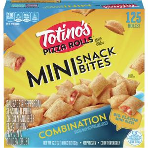 Totino's Mini Pizza Roll Snack Bites Combination