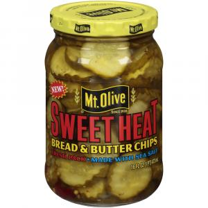 Mt. Olive Sweet Heat Bread and Butter Chips
