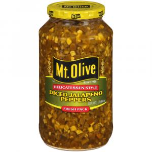 Mt. Olive Deli Style Diced Jalapeno Peppers