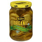 Mt. Olive Organic Kosher Hamburger Dill Chips