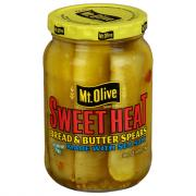 Mt. Olive Sweet Heat Bread and Butter Spears