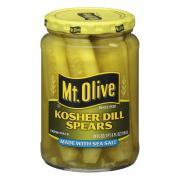Mt. Olive Sea Salt Kosher Dill Pickle Spears