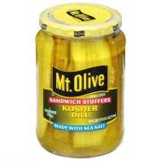 Mt. Olive Sea Salt Kosher Stuffers