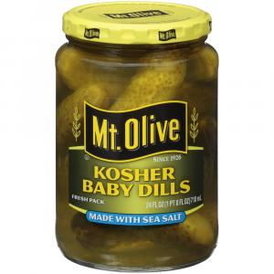Mt. Olive Sea Salt Kosher Baby Dills
