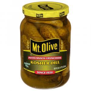 Mt. Olive Kosher Dill Petite Snack Crunchers