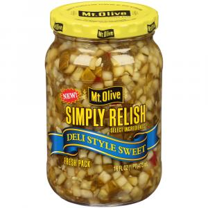 Mt. Olive Fresh Pack Sweet Relish With Sea Salt