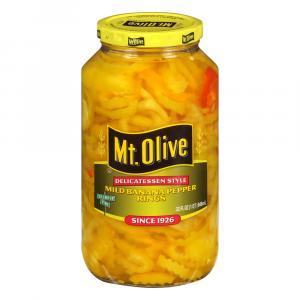 Mt. Olive Mild Banana Pepper Rings Delicatessen Style