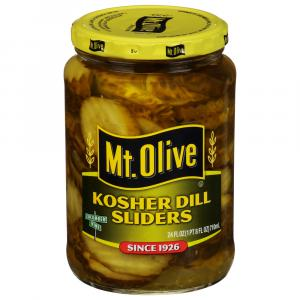 Mt. Olive Kosher Dill Sliders