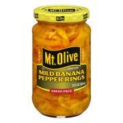 Mt. Olive Mild Banana Pepper Rings