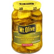 Mt. Olive Kosher Dill Hamburger Chips