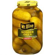 Mt. Olive Kosher Dill Pickles