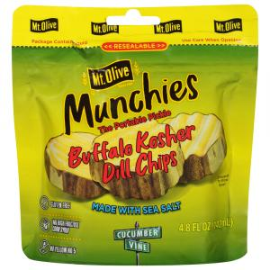 Mt. Olive Munchies Buffalo Kosher Dill Chip Pouch