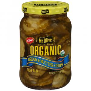 Mt. Olive Organic Bread & Butter Chips