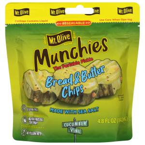 Mt. Olive Munchies Bread & Butter Chip Pouch
