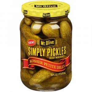 Mt. Olive Simply Pickles Kosher Petite Dills