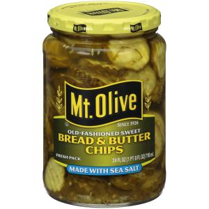 Mt. Olive Sea Salt Bread and Butter Pickle Chips