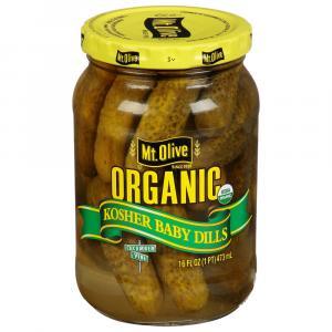 Mt. Olive Organic Kosher Baby Dills