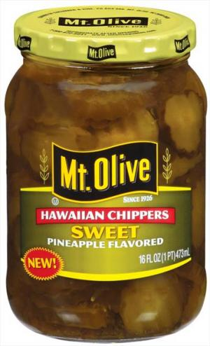 Mt. Olive Sweet Pineapple Flavored Hawaiian Chippers