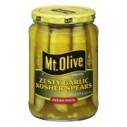 Mt. Olive Zesty Garlic Spears