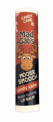 Mad Gab's Moose Smooch Lip Balm Candy Cane