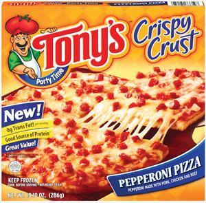 Tony's Crispy Crust Pepperoni Pizza