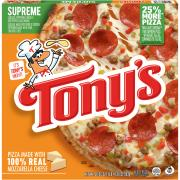 Tony's Pizzeria Style Crust Supreme Pizza