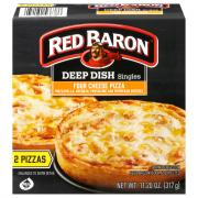 Red Baron Deep Dish Singles 4 Cheese Pizza