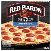 Red Baron Thin & Crispy Ultimate Pepperoni Pizza