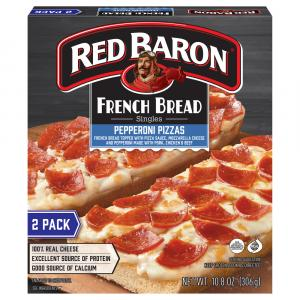 Red Baron French Bread Pepperoni Pizza
