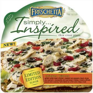 Freschetta Simply Inspired Chicken Bianco