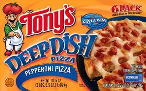 Tony's Deep Dish Pepperoni Pizza