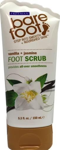 Bare Foot Foot Scrub Vanilla + Jasmine