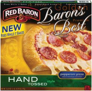Red Baron Baron's Best Hand Tossed Pepperoni Pizza