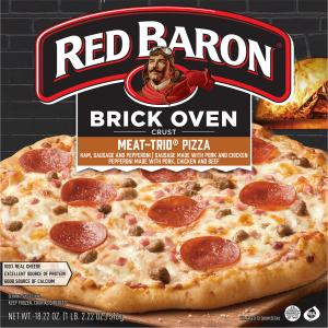 Red Baron Brick Oven Crust Meat-trio Pizza