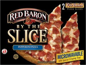 Red Baron By The Slice Pepperoni Pizza