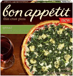 Bon Appetit Spinaci Thin Crust Pizza